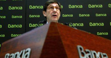 Bankia gana 400 millones hasta junio, un 22,3% menos