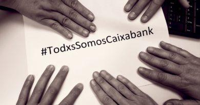 #GraciasCompañerosDeCaixaBank